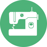 Textiel borduren icon